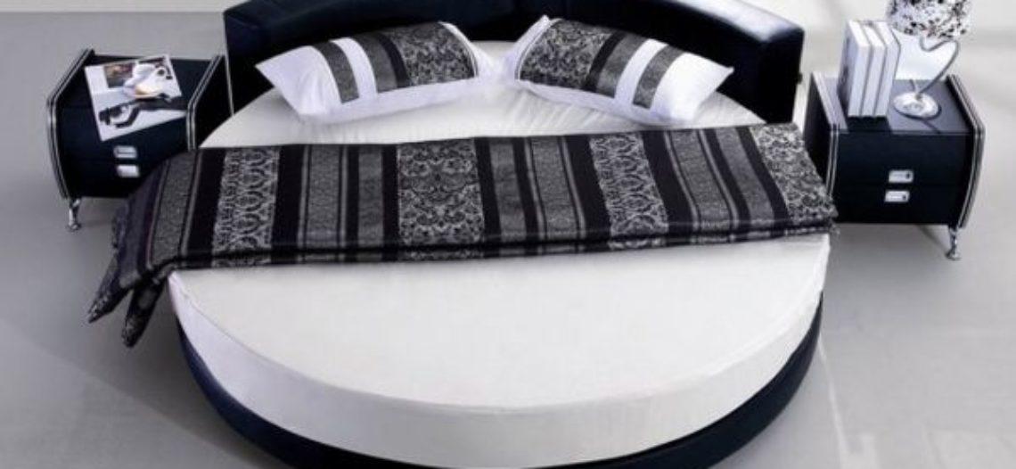 Lạ mắt với những mẫu giường tròn hiện đại hợp xu hướng
