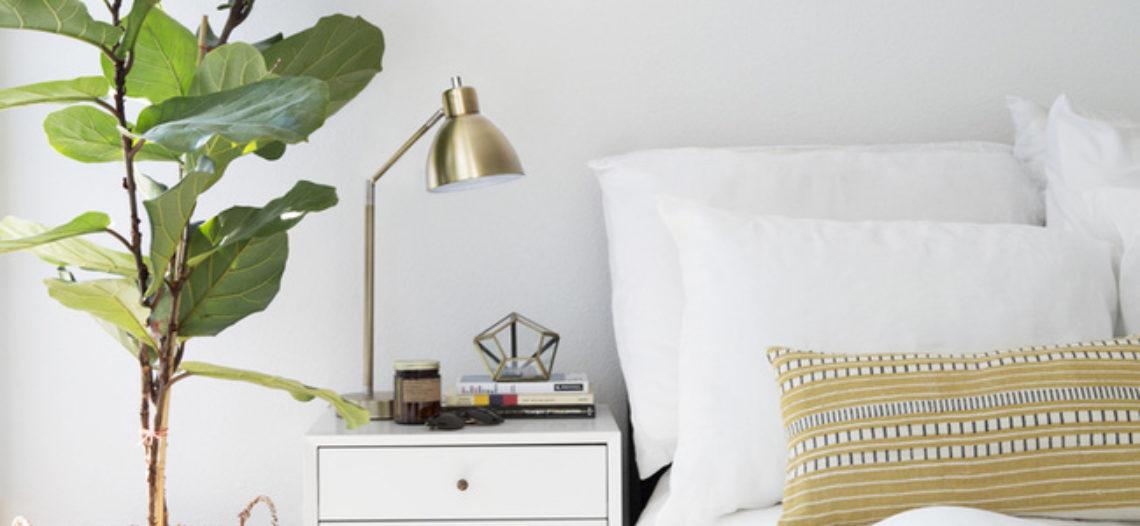 Làm mới phòng ngủ bằng nội thất gia đình cho mùa hè đón nắng