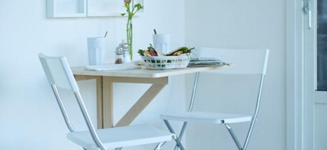 Những mẫu bàn ăn tiện dụng cho căn nhà nhỏ