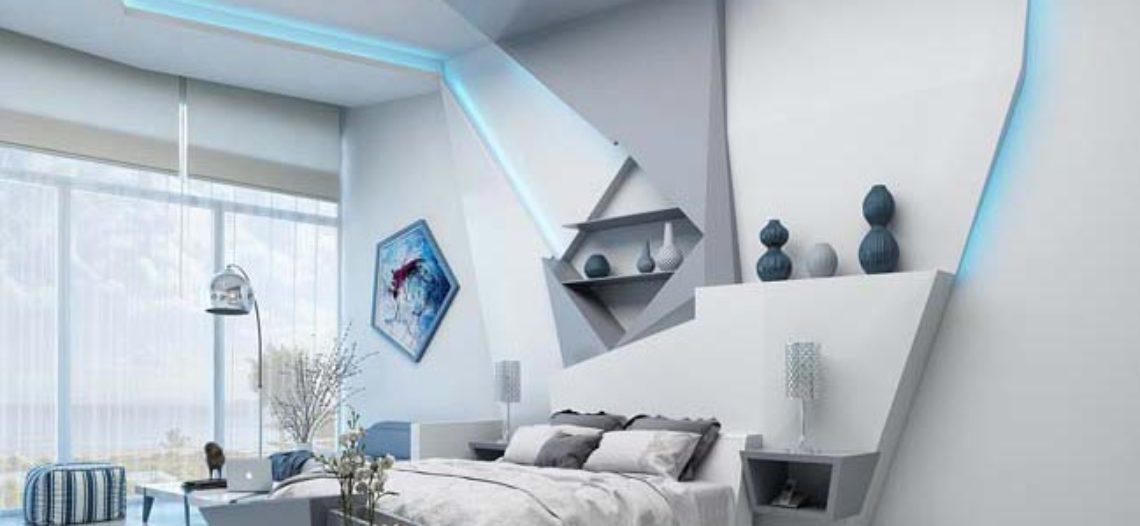 Thiết kế nội thất phòng ngủ 20m2 đầy cá tính