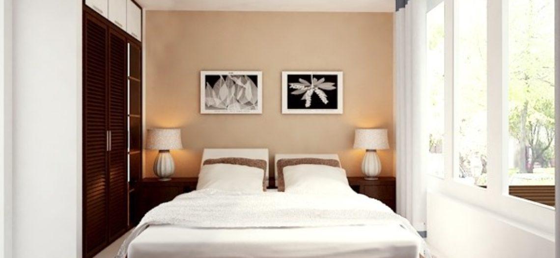 Thiết kế nội thất phòng ngủ 15m2 cực ấn tượng