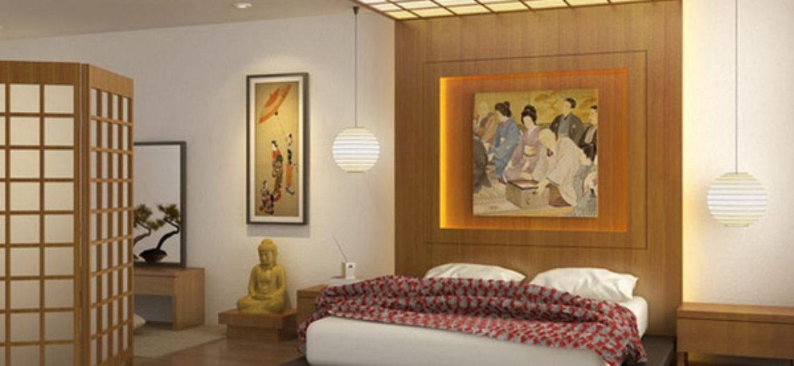 Nội thất phòng ngủ phong cách Nhật Bản ấn tượng