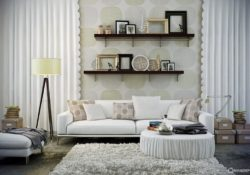 Tinh tế với mẫu sofa màu trắng hiện đại cho phòng khách