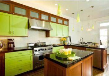 Tổng hợp các mẫu phòng bếp màu xanh mát dịu cho mùa hè