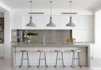 Tổng hợp những thiết kế phòng bếp màu trắng cực đỉnh