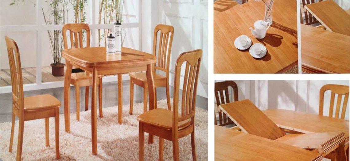 3 mẫu bàn ăn thông minh luôn theo kịp xu hướng của mọi thời đại