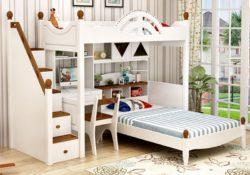 4 ưu điểm không thể không kể đến của giường tầng gỗ cho trẻ