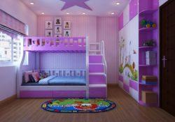 Cách thiết kế nội thất phòng ngủ đẹp cho bé gái