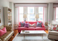 4 mẫu sofa da sắc màu cực kỳ nổi bật cho phòng khách