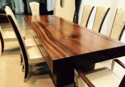 Ưu và nhược điểm của bàn ăn gỗ tự nhiên
