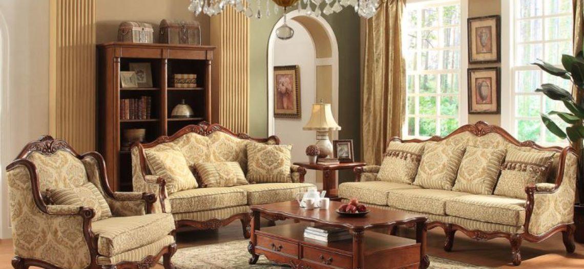 3 mẫu sofa gỗ phòng khách cổ điển bạn nhất định tham khảo
