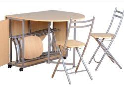 Ấn tượng với bàn ăn tròn thông minh cho ngôi nhà diện tích nhỏ