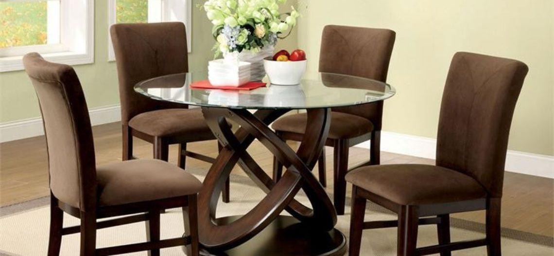 Sử dụng bàn tròn đẹp cho phòng ăn thêm phần khác biệt