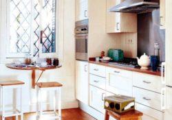 10 ý tưởng sử dụng bàn ăn gấp gọn cho phòng bếp