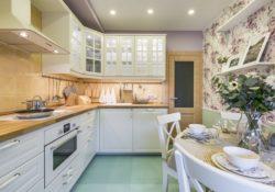 Gợi ý thiết kế căn bếp 9m² nhẹ nhàng, tinh tế
