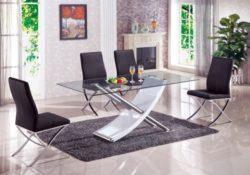 Mẫu bàn ăn hiện đại hợp vơi mọi không gian phòng bếp