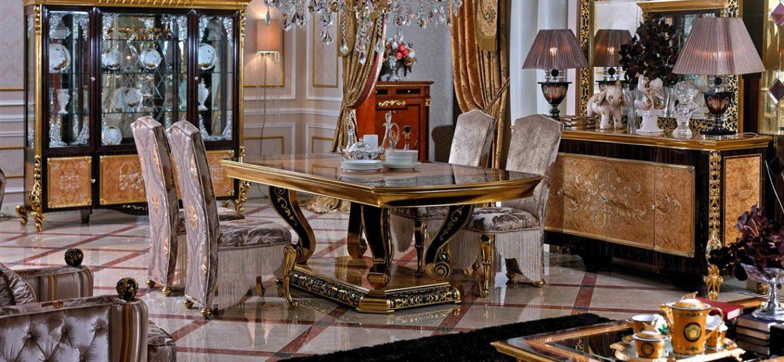 Những bộ bàn ghế phong cách Châu Âu cực ấn tượng