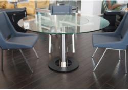 Những mẫu bàn ăn kính tròn hiện đại bạn không thể bỏ qua