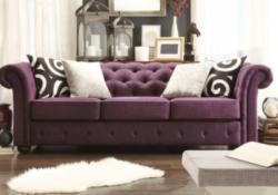 7 mẫu sofa màu tím đẹp cho không gian sống của bạn thêm sinh động