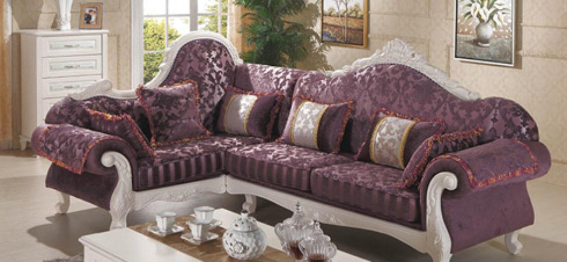 Nổi trội với không gian nội thất của ghế sofa tím