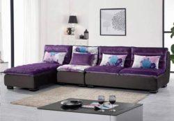 Ghế sofa màu tím – Nội thất mang lại phong thủy cho gia đình