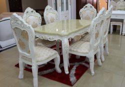 Hướng dẫn chọn mua bàn ghế ăn nhập khẩu cho gia đình P1