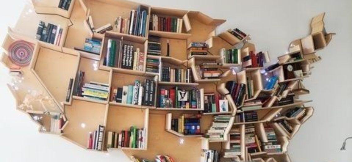 11 mẫu giá sách ấn tượng ai cũng muốn sở hữu