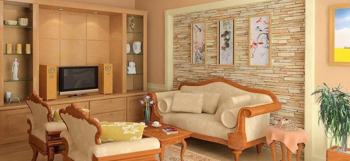 Bàn ghế gỗ nhập khẩu phong cách châu Âu cho phòng khách sang trọng