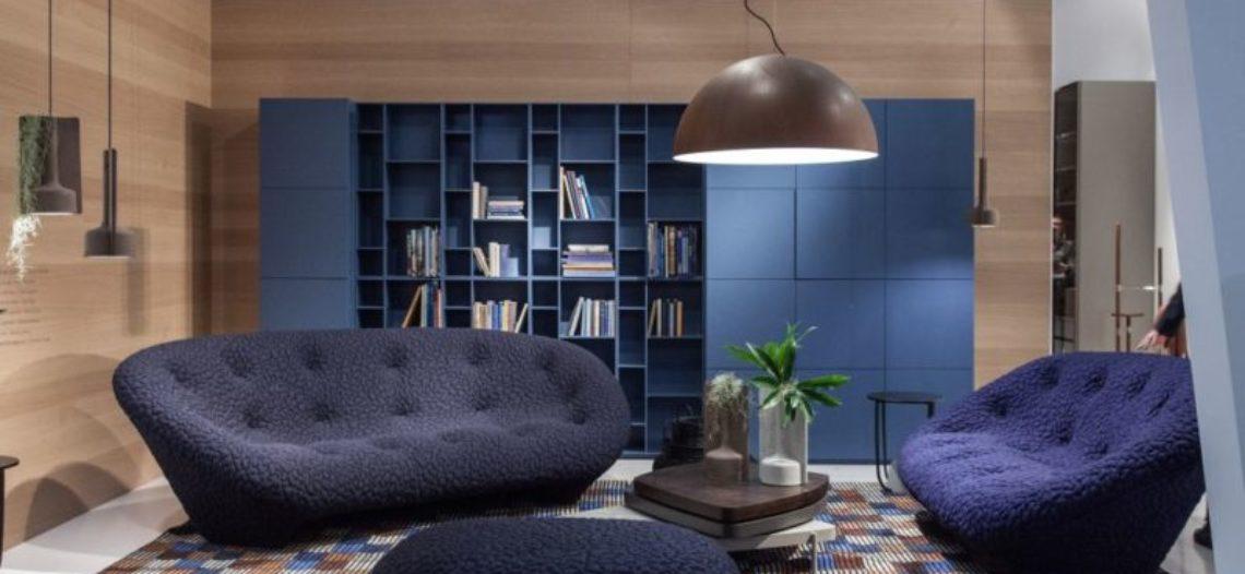 Thiết lập không khí tươi mát và thanh nhã với bộ sofa màu xanh dương