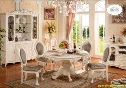 Thỏa sức lựa chọn các mẫu bàn ghế gỗ phong cách Châu Âu với ngân sách dưới 15 triệu đồng