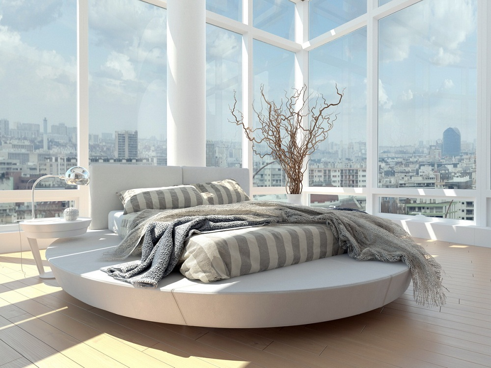 Xu hướng thiết kế giường ngủ hiện đại, nổi bật nhất 2017-1