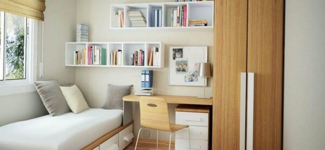 Không gian phù hợp nhất với thiết kế giường ngủ nhỏ
