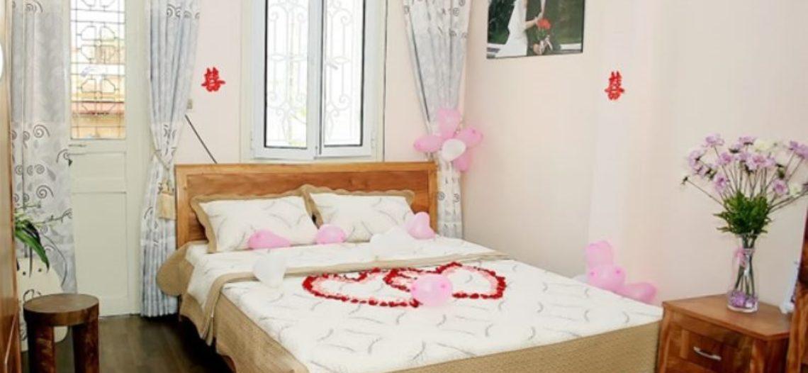 Cách thiết kế mẫu giường cưới đẹp cho phòng tân hôn