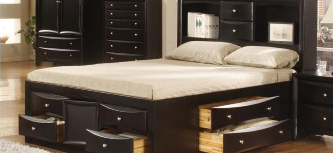 Giường ngủ có hộc tủ đa năng ai nhìn cũng phải mê