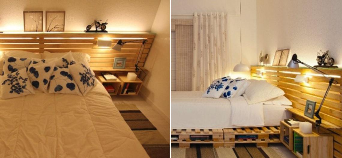 Giường ngủ pallet độc đáo và tiện lợi