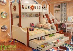 Kinh nghiệm chọn các mẫu giường tầng đẹp và an toàn cho bé