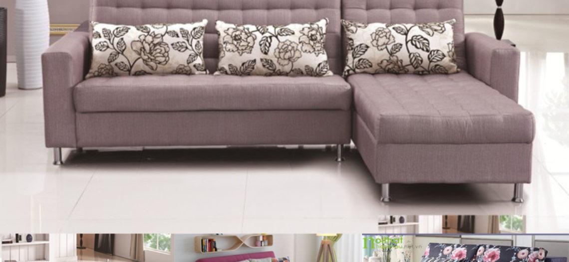 Tiết kiệm không gian với giường gấp thành ghế sofa