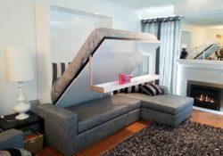 5 mẫu giường kết hợp sofa khiến bạn không khỏi ngạc nhiên
