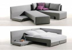 Cuộc sống đơn giản hơn với ghế sofa làm giường nằm
