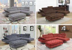 Giường sofa đa năng tiện lợi cho không gian nhà chật