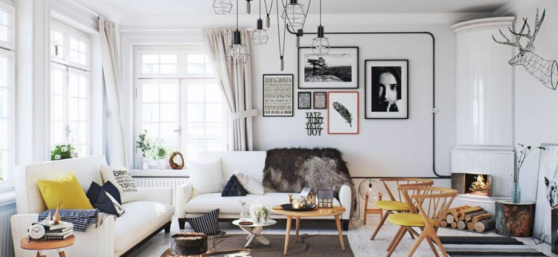 Ý tưởng chọn màu sơn trang trí phòng khách