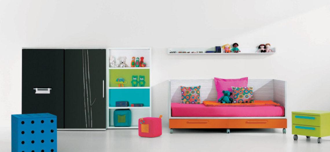 Sofa giường cho bé mới lạ tiện dụng dành cho phòng ngủ