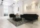 Ý tưởng thiết kế không gian phòng khách đơn sắc
