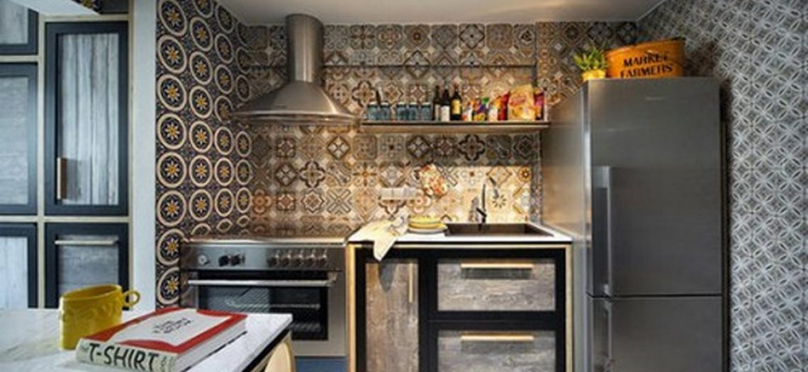 Gạch bông ốp tường bếp – Tuyệt chiêu trang trí mới của gia đình Việt