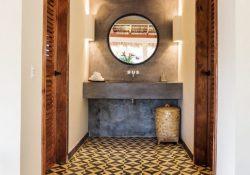 Hãy lựa chọn gạch bông để ốp lát phòng tắm của bạn