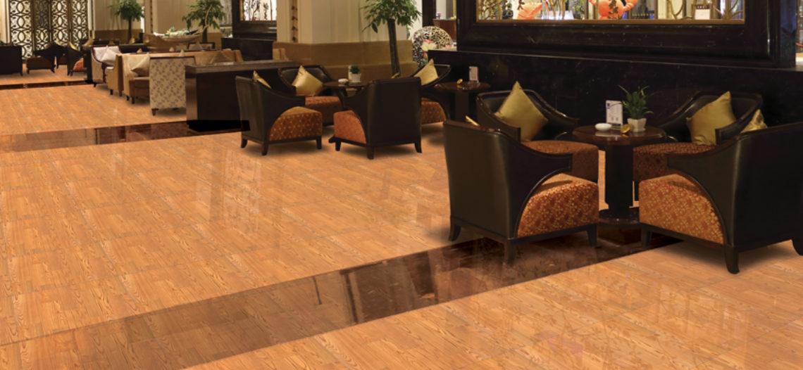Nên lát nền bằng sàn gỗ công nghiệp hay bằng gạch trang trí vân gỗ