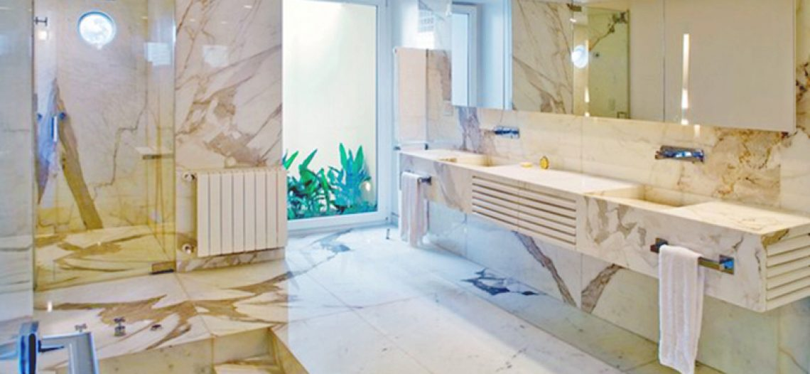 Đá Marble – Ưu và khuyết điểm – Kết thúc – Ý tưởng thiết kế & Mẹo chăm sóc phòng tắm
