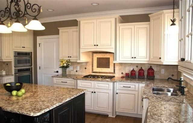 Bí quyết phối màu đá granite đẹp mắt cho bàn bếp 6