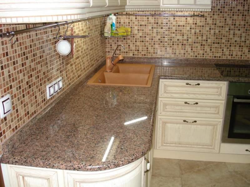 Bí quyết phối màu đá granite đẹp mắt cho bàn bếp 8