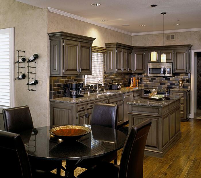 Đá granite đen ánh kim-sự lựa chọn thông minh cho không gian bếp-06